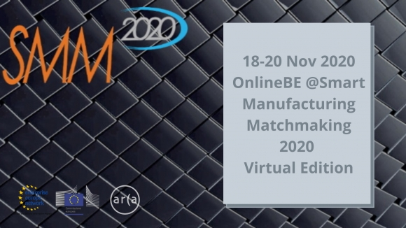 Smart Manufacturing Matchmaking 2020 (SMM2020) - Virtual Edition